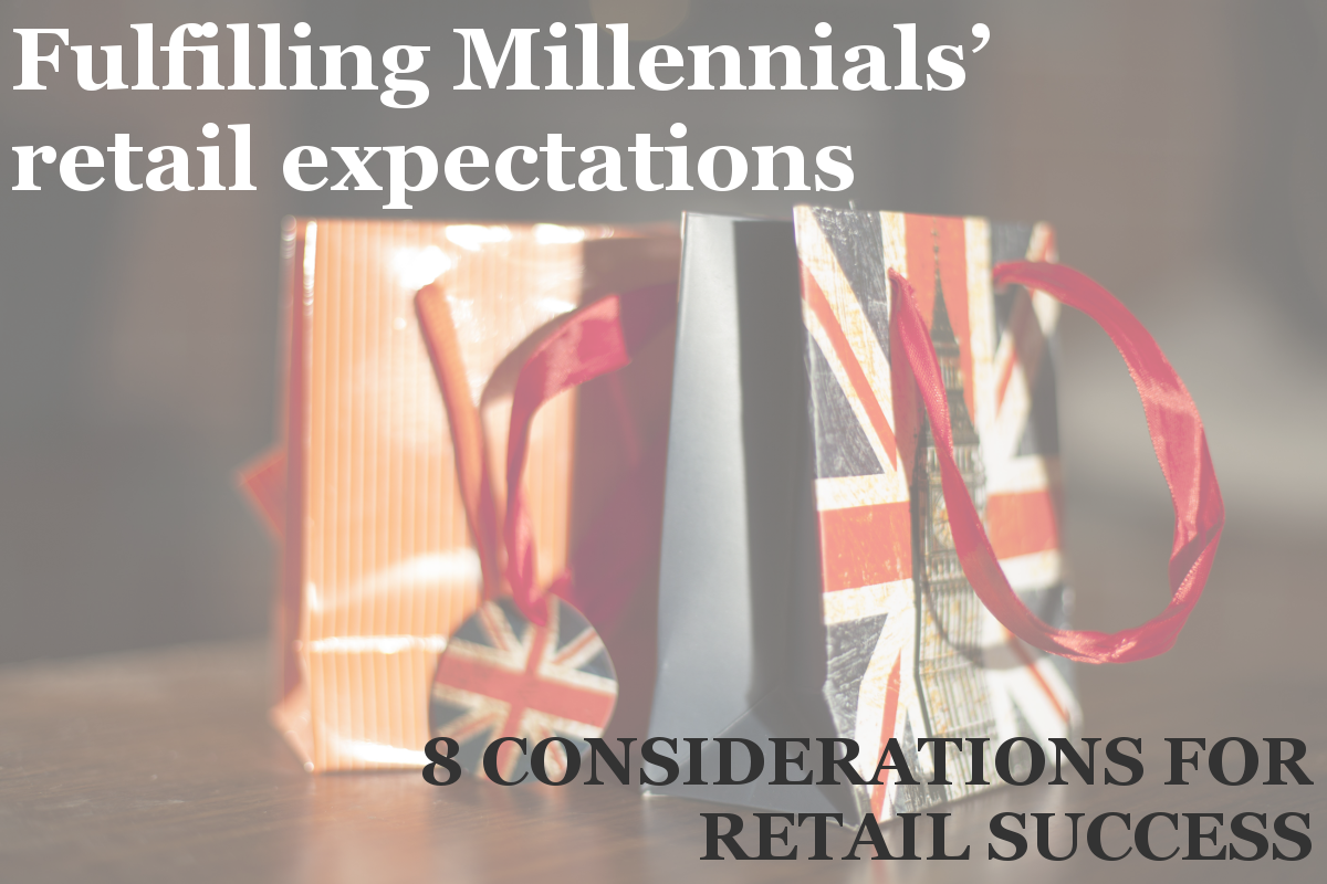 Millennials and retail expectations